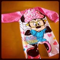 Minnie Mouse Rompers