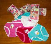 Hello Kitty - Girls Underpants - Packs of 6