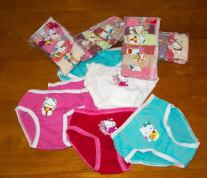 Hello Kitty - Girls Underpants - Packs of 6