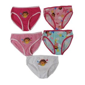 Dora the Explorer 5pk girls briefs