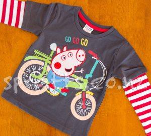 George Pig - Go Go Go Long Sleeve Shirt