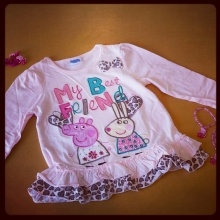 Girls Peppa Pig Tunic
