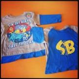 Sponge Bob Square Pants - Shirt With Removable Cape