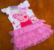 Peppa Pig - White Princess Dress