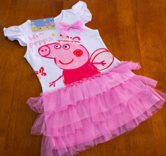 Peppa Pig - White Princess Dress