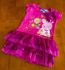 Peppa Pig - Pink Dress With Flowers