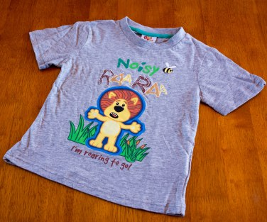 RA RA The Noisy Little Lion - Shirt