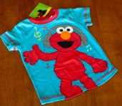 Elmo - Shirt - Aqua Blue