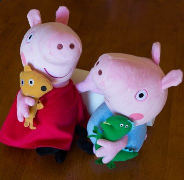 Peppa Pig & George Pig - Pair