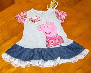 Peppa Pig - Cotton/Lace/Denim Tunic
