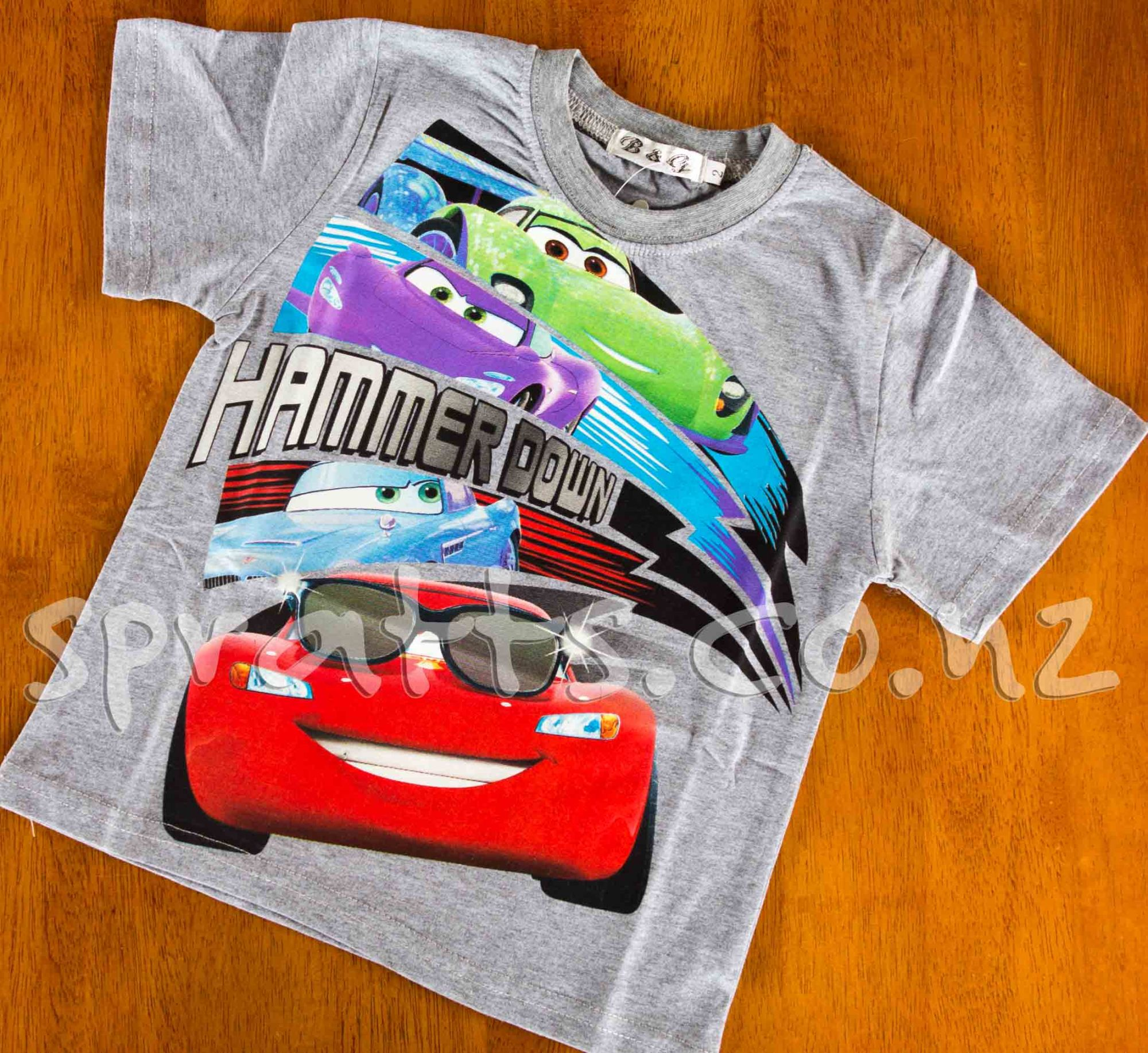 Lightening McQueen Grey