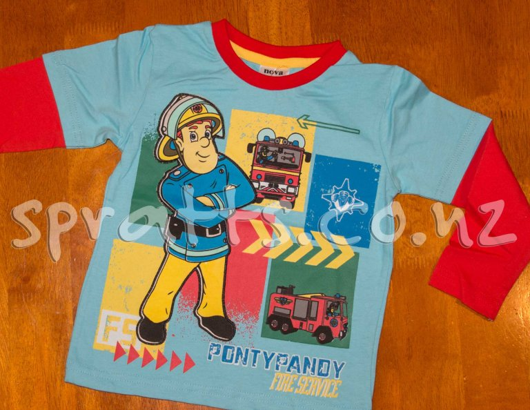 Fireman Sam Red Arms